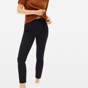 Everlane the side zip stretch cotton pant size 8